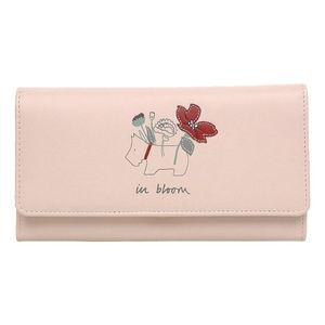 IN BLOOM Radley Flapover Matinee Wallet - Pink
